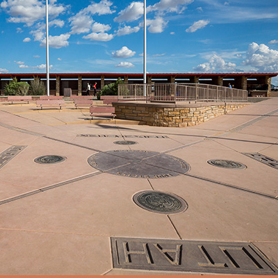 Image of four corners in Montana